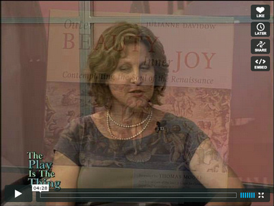 Julianne Davidow speaks about her book, Outer Beauty, Inner Joy in an interview with Judy Sleed